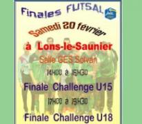 Les U15 en finale du challenge futsal