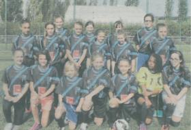 PGFC-Les filles se lancent dans le football (article le Progrès)